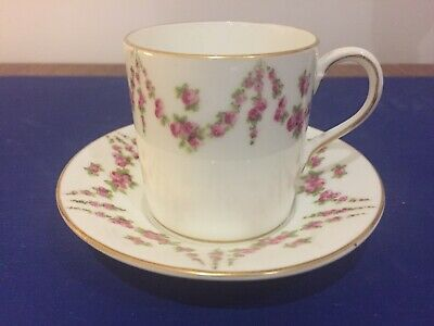 Crescent China George Jones & Sons Coffee Can And Saucers C1895 • 18£