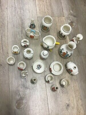 Job Lot 21 Peices Of W H Goss Crested China • 3.70£