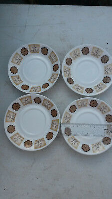 Set Of 4 Royal Vale Bone China Saucers • 4.95£