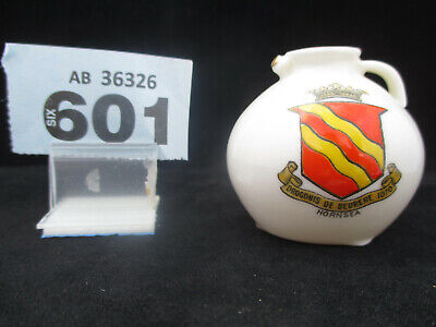 WH GOSS The Gloucester Jug Crested China Hornsea Crest  (601) • 4.75£