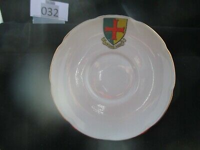 W.H.GOSS Crested China Sauce, Crest Of Tintern Abbey (032) • 4.50£