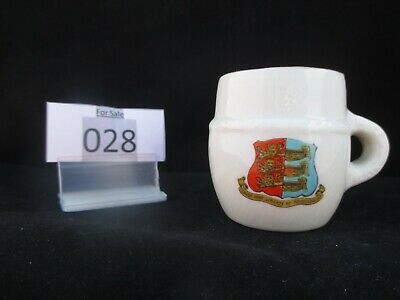 Model Of Ancient Cup BRIXWORTH W.H.GOSS Crested China, Crest Of BRIGHTLING (028) • 4.50£
