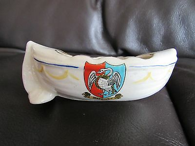 Crested China Willow Art Life Boat  • 10£