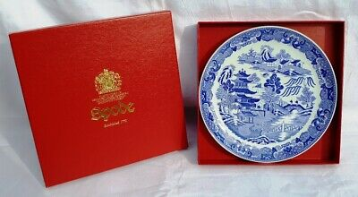 """Spode """"Two Temples"""" Willow Pattern Plate. • 25£"""