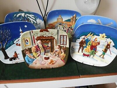Beswick International Wall Plaques. Christmas Limited Edition. Plates X X6 Mint  • 48£