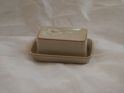 DENBY  BUTTER  DISH - Early Style • 10£