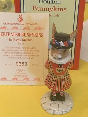 Royal Doulton Beefeater Bunnykins DB163LE Great Condition Original Box With Auth • 48£