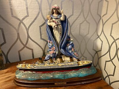 Franklin Mint Mother Mary Banbury Mint Titanic • 30£
