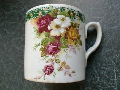 Large Vintage Can Mug By BCM Nelson Ware Flowers • 4.99£