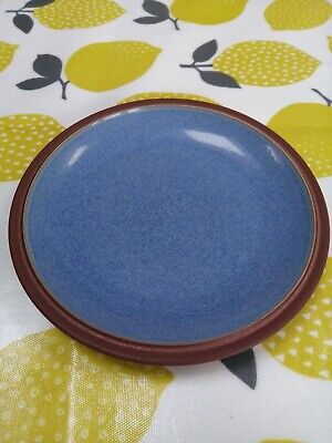 Denby Juice Blue Side Plate Berry Used In Excellent Condition 18cm Diameter • 4£