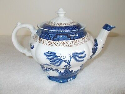 Booths Real Old Willow A8025 Tea Pot In Very Good Used Condition • 35.99£