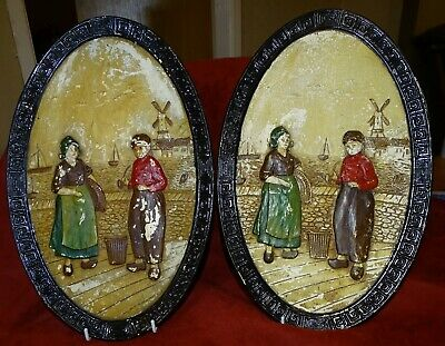 Bretby Wall Plaques X  2   • 13.99£