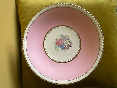 Gray's Pottery Cake Stand Pattern No A8694 Banded Motif C.1949 SC Tablot V. Rare • 29.99£