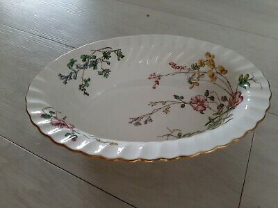 Minton - Dainty Sprays 10  Vegetable Serving Dish Oval Bowl (33) • 21£
