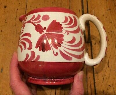Vintage Gray's Pottery Pink Lustre Milk Jug AE Gray, Pattern 4041,1920's Creamer • 5.99£