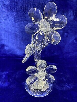 Crystal Decoration, Ornament, Flower, Light Up, Home Decor, Gift Boxed, • 14.99£