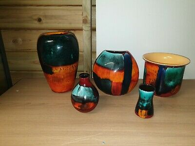Poole Pottery Gemstone Job Lot X Five Pieces • 120£