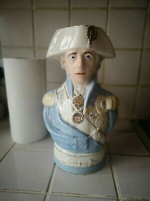 Lord Nelson Toby Pottery Jug • 10£