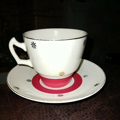 George Clews Cup And Saucer • 7.99£
