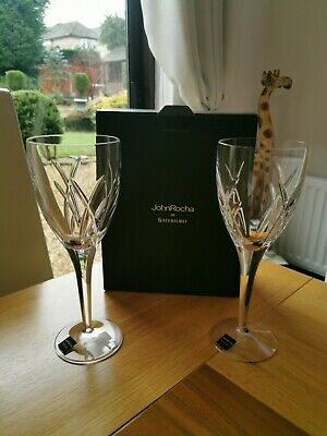 Waterford John Rocha  Pair Of Crystal Glasses (large )new  • 150£
