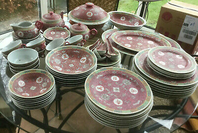 Chinese Ceramic Dinner Service, Multiple Pieces, Condition Used • 5£