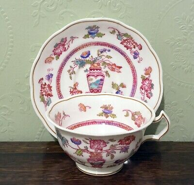 1920s George Jones Crescent Bone China Chinoiserie Cup And Saucer • 20£