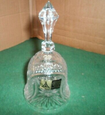 Lead Crystal Bell By Anna Hutte • 5£