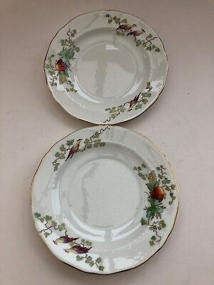 Fenton England Reproduction 'Chantilly French' 2 X Side Plates • 3£