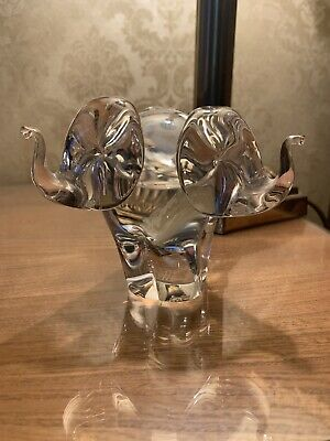 Wedgwood Glass Elephant • 21£
