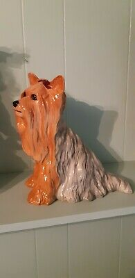 Beswick Large Fireside Dog Yorkshire Terrier • 9£