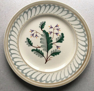 Pountney Bristol Pottery Hand Painted Bellflower Plate • 8£