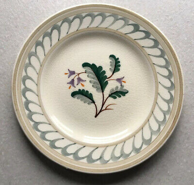 Pountney Bristol Pottery Hand Painted Tea Plate • 5£