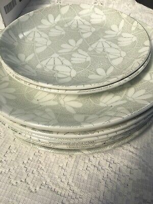 Stafordshire Grindley 8 Dinner Plate And 2 Desert Plate • 22£