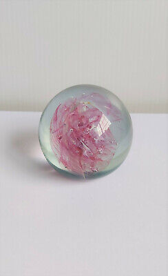 Vintage Michael Harris ISLE OF WIGHT STUDIO GLASS Paperweight 1970s • 17.35£