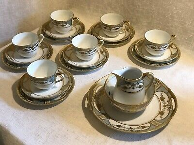 Beautiful Antique Noritake Tea Set ,  • 40£