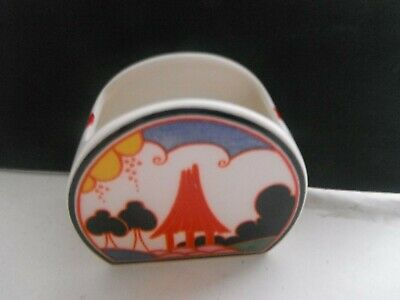 CLARICE CLIFF  SUMMER HOUSE   SUGAR BOWL  By WEDGWOOD -  LT'D EDITION - PERFECT • 28£