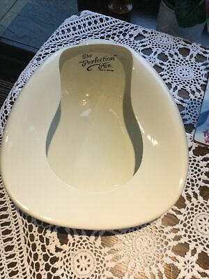 The Perfection Pan Bedpan Made In England • 6£