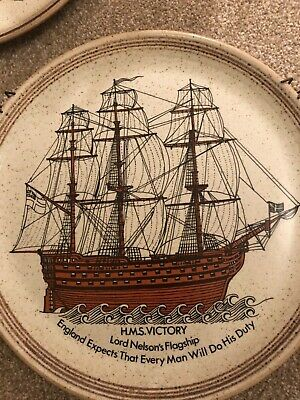 Purbeck Pottery HMS Victory • 4.99£