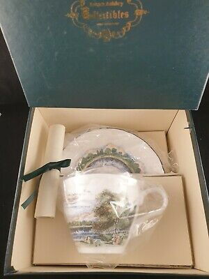 Laura Ashley Regents Park, Boxed Collectibles Cup And Saucer, Boxed 1988c • 25£