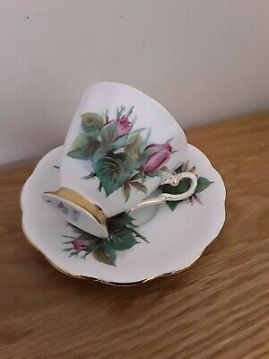 Rare Royal Standard China Coffee Cup & Saucer Prelude Harry Wheatcroft Roses ! • 4.99£