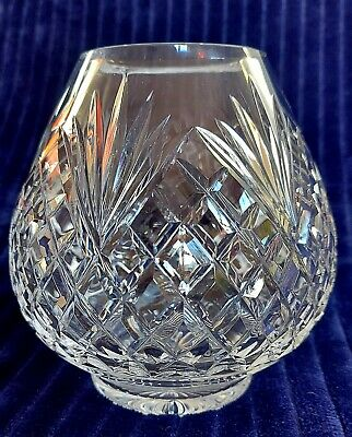 Tyrone Crystal Ulster Rose Bowl - Antrim, Mint Condition (still In Box)! • 20£