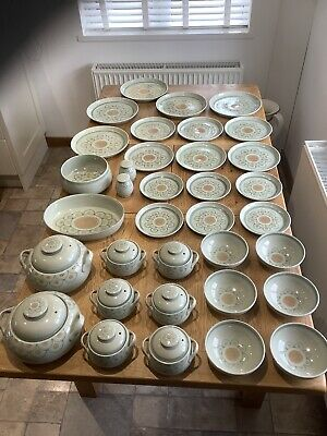 Denby Sundance Dinner Set With Extras 35 Pieces All In Excellent Condition • 60£