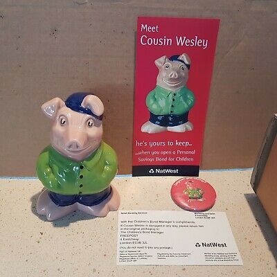 Wade Cousin Wesley Natwest Pigs + Extras • 175£