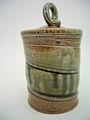 Walter Keeler Cylindrical Pot And Cover (ref 483) • 195£