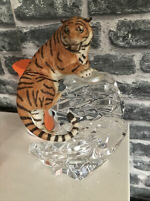 Tiger On Glass Ornament • 50£