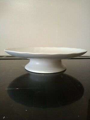 Villeroy And Boch White Cake Stand Vitro VGC • 9£