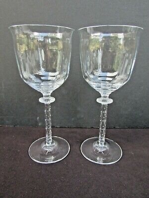 Southern Living GALLERY COLLECTION 10 Oz Water Goblet (2) Cabinet Displayed Nice • 14.62£