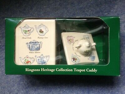 Ringtons Tea Caddy Heritage Collection Wade Ceramics Boxed • 7.50£