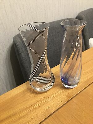 Caithness Vases With Swirles  • 7.50£