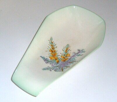 Art Nouveau Beswick Ceramic In Relief Flowered Dish / Tray / Ornament / Bowl • 2.99£